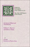 Medieval Notaries and Their Acts