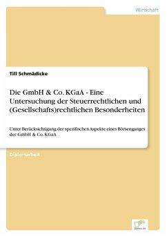 Die Gmbh Co Kgaa Eine Untersuchung Der Steuerrechtlichen Und