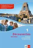 Découvertes Série bleue 1. Fit für Test und Klassenarbeiten. Arbeitsheft mit Lösungen und Audio-CD. ab Klasse 7