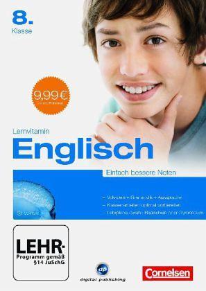 Lernvitamin Englisch 8. Klasse, CD-ROM
