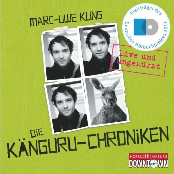 Die Känguru-Chroniken / Känguru Chroniken Bd.1 (4 Audio-CDs) - Kling, Marc-Uwe