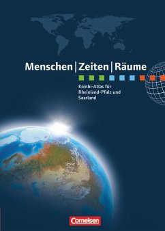 Menschen Zeiten Räume: Kombi-Atlas für Rheinlan...