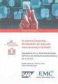 In-memory-Computing - Die Rückkehr der Unternehmenssteuerung in Echtzeit?