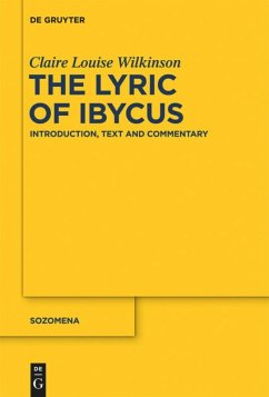 The Lyric of Ibycus - Wilkinson, Claire Louise