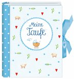 Kleines Foto-Einsteckalbum: Meine Taufe, hellblau