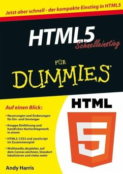 HTML5 Schnelleinstieg für Dummies - Harris, Andy