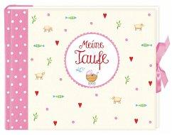 Eintragalbum Meine Taufe, rosa
