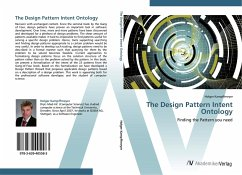 9783639405583 - Kampffmeyer, Holger: The Design Pattern Intent Ontology - Buch