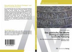 """9783639400427 - Samarra Collins, Robert: Das polnische """"De Morte Prologus"""" und seine russische Fassung - Buch"""