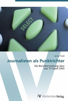 9783639405217 - Theiß, Jennie: Journalisten als Punktrichter - Buch