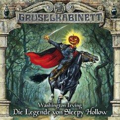 Die Legende von Sleepy Hollow / Gruselkabinett Bd.68 (1 Audio-CD) - Irving, Washington