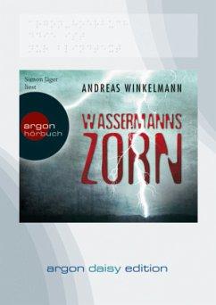Wassermanns Zorn, 1 MP3-CD (DAISY Edition) - Winkelmann, Andreas