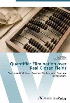 9783639406634 - Möller, Ralf Schultz, Claudia: Quantifier Elimination over Real Closed Fields - Buch