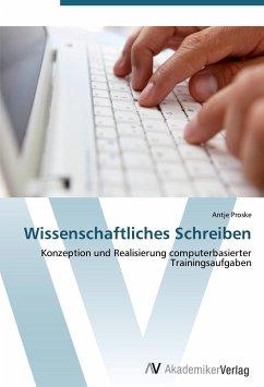 9783639406672 - Proske, Antje: Wissenschaftliches Schreiben - Bok
