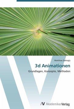9783639407235 - Zabiegly, Matthias: 3d Animationen - Книга