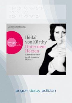 Unter dem Herzen, 1 MP3-CD (DAISY Edition) - Kürthy, Ildikó von