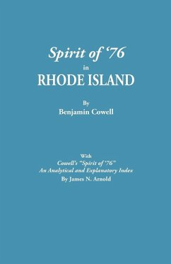 """Spirit of '76 in Rhode Island [published] with Cowell's """"Spirit of '76"""""""
