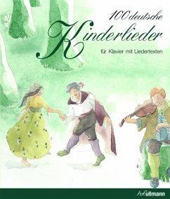 100 deutsche Kinderlieder, für Klavier