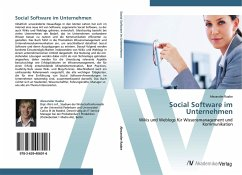 9783639406016 - Raabe, Alexander: Social Software im Unternehmen - Buch