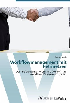 9783639407297 - Thomas Jacob: Workflowmanagement mit Petrinetzen - Livre