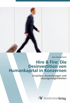 9783639407136 - Grauenhorst, Jens: Hire & Fire: Die Desinvestition von Humankapital in Konzernen - Book