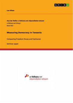 Measuring Democracy in Tanzania