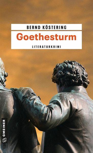 Buch-Reihe Goethe-Trilogie von Bernd Köstering