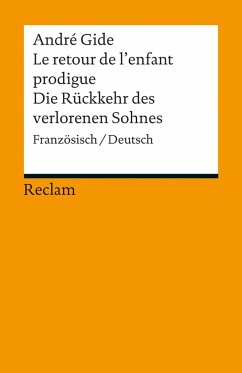 Le retour de l'enfant prodigue / Die Rückkehr des verlorenen Sohnes - Gide, André