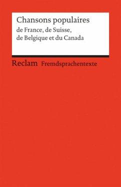 Chansons de France, de Suisse, de Belgique et du Canada