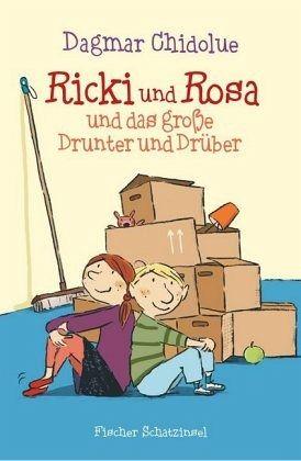 Buch-Reihe Ricki und Rosa von Dagmar Chidolue