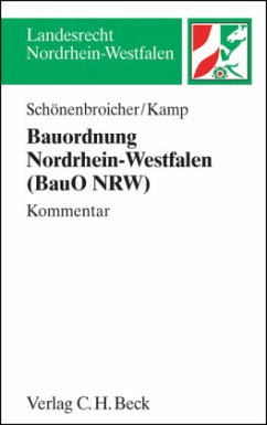 Bauordnung Nordrhein-Westfalen (BauO NRW), Kommentar
