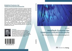 9783639407518 - Benze, Jörg: HelpDesk-Systeme der Telekommunikationsbranche - Ktieb