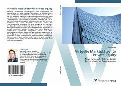 9783639407310 - Jan Häupler: Virtuelle Marktplätze für Private Equity - Cartea