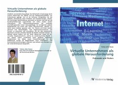 9783639407815 - Haase, Tobias John: Virtuelle Unternehmen als globale Herausforderung - Book
