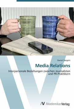 9783639408713 - Seegers, Daniel: Media Relations - Buch