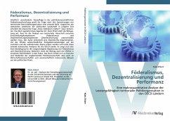 9783639407228 - Ehlert, Niels: Föderalismus, Dezentralisierung und Performanz - Buku