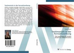 9783639407761 - Tillmann, Sonja: Testimonials in der Fernsehwerbung - Book