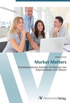 9783639407860 - Schenk, Ulrike: Market Matters - Kitabu