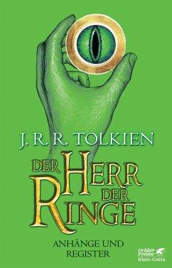 Der Herr der Ringe - Anhänge und Register Neuau...
