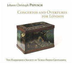 Die Konzerte Und Ouvertüren Für London - Rawson/The Harmon.Society Of Tickle-Fiddle Gen