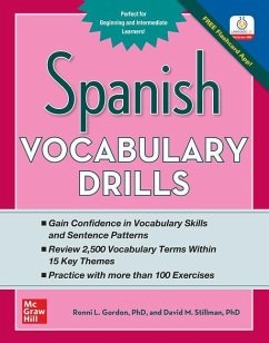 Spanish Vocabulary Drills - Gordon, Ronni; Stillman, David