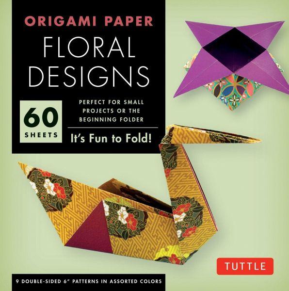 origami floral designs von tuttle editors englisches