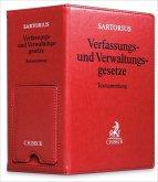 Sartorius Verfassungs- und Verwaltungsgesetze, Hauptordner 86 mm in Lederoptik