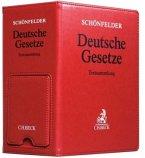 Schönfelder Deutsche Gesetze, Hauptordner 86 mm in Lederoptik