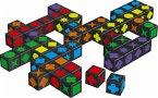 Schmidt 49257 - Qwirkle Cubes