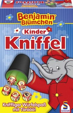 Schmidt 40390 - Benjamin Blümchen: Kinder Kniffel