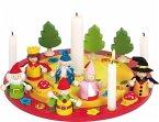 Goki 60993 - Dekoration - Geburtstagskranz mit Figurenset