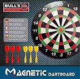 Bulls Magnetic Dartboard mit 6 Pfeile