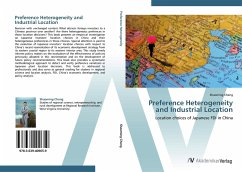 9783639409659 - Shaoming Cheng: Preference Heterogeneity and Industrial Location - Buch