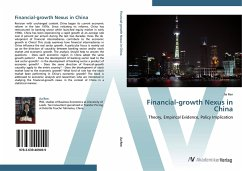9783639409499 - Ren, Jia: Financial-growth Nexus in China: Theory, Empirical Evidence, Policy Implication - Buch